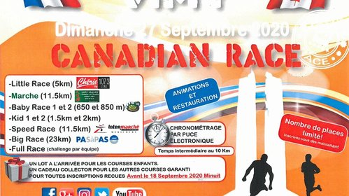 Canadian Race - 27 septembre 2020